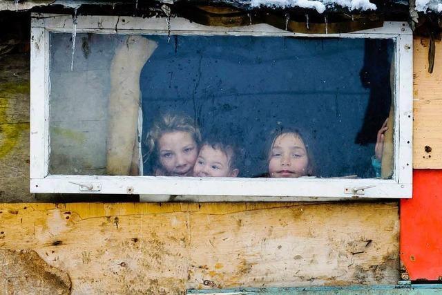 Ein Deutscher filmte nackte Kinder in Rumänien