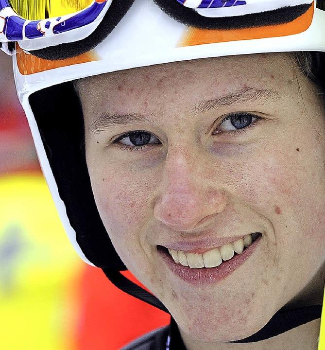 Bitteres Saisonende: Ramona Straub kan...ahr wieder von einer Schanze abheben.   | Foto: seeger