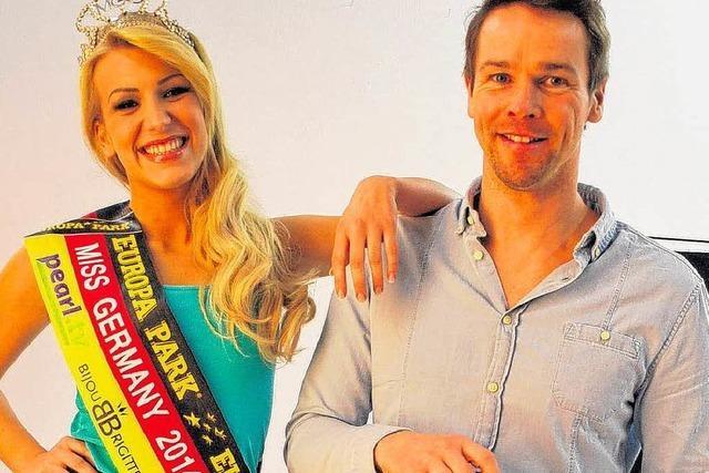 Miss Germany Vivien Konca in Waldshut: