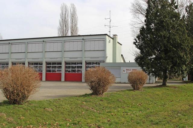 Feuerwehrhaus wächst ums Doppelte