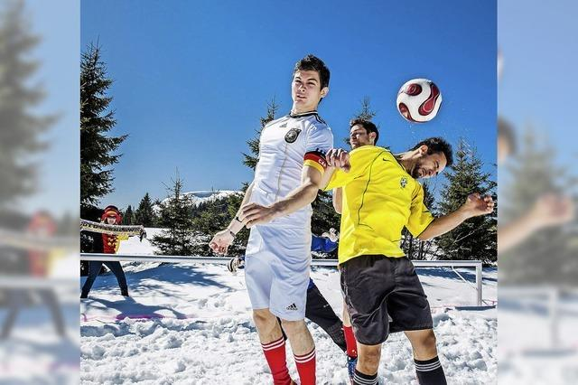Kicken im Schnee: Winterfußballturnier am Herzogenhorn