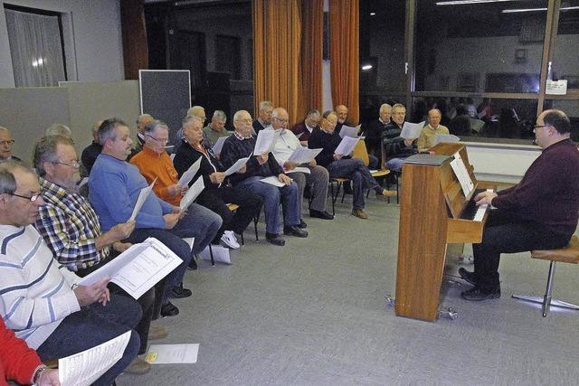 Nach 95 Jahren hat Männerchor Wehr eine neue Bleibe