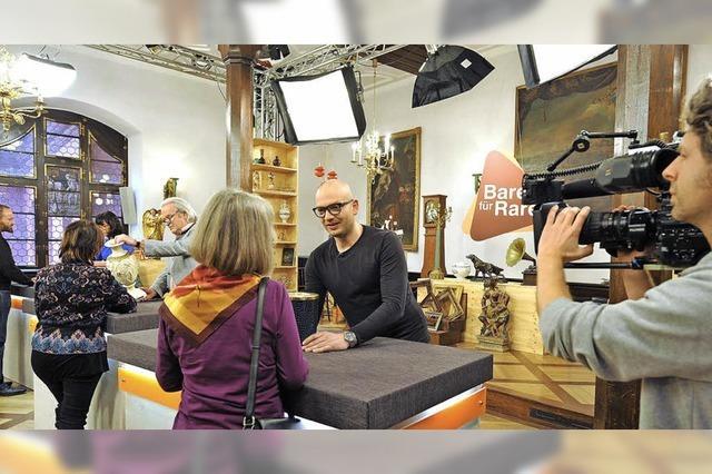 ZDF nimmt Antiquitäten-Show im Historischen Kaufhaus auf
