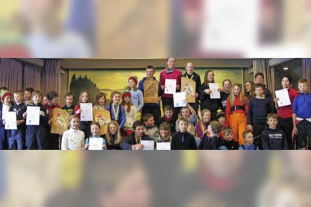 184 Schüler starten beim Kreisskitag