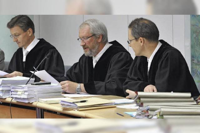 Großaufgebot an Richtern im Talar