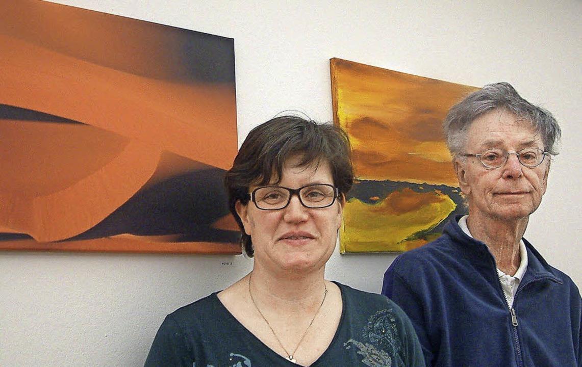Anregender Künstler-Dialog: Die Fotogr...Ausstellung im St. Josefshaus Herten.   | Foto: Roswitha Frey