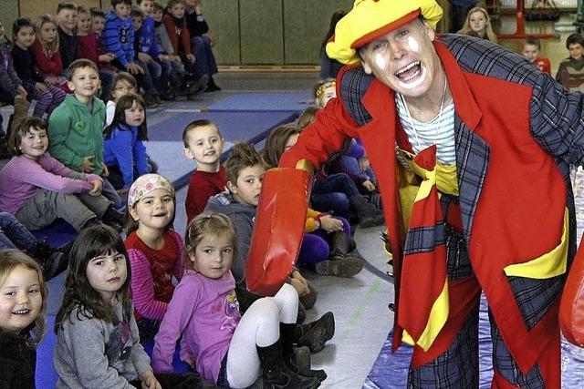 Zirkus hilft Hürde nehmen