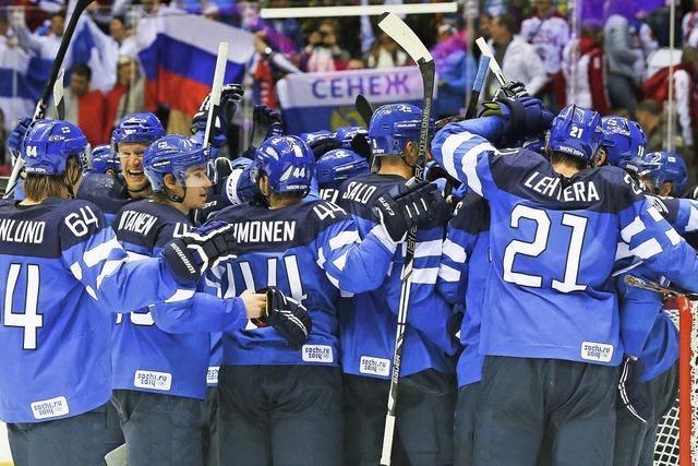 Russlands Eishockeyteam scheitert im Viertelfinale