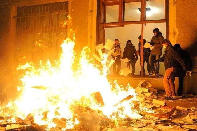 Unruhen in Lviv – Freiburg zeigt Solidarität mit Partnerstadt