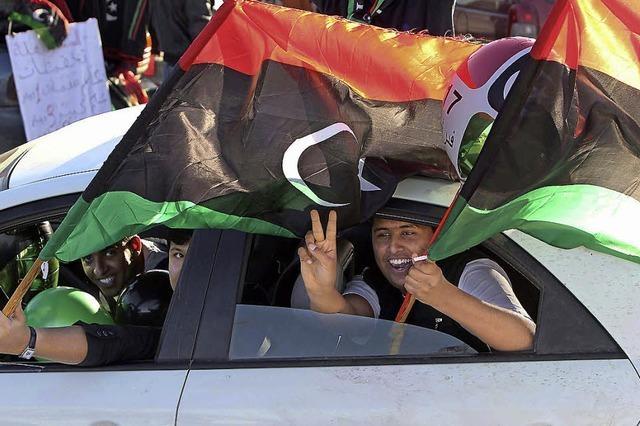 Der Übergangsprozess in Libyen stockt