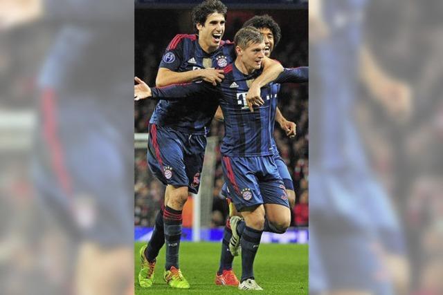 FC Bayern München gewinnt bei Arsenal London mit 2:0