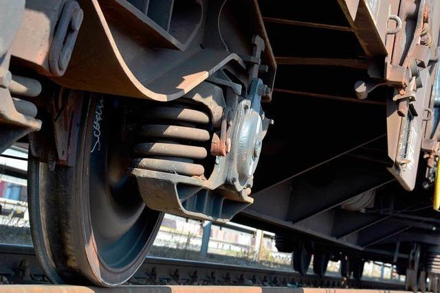Sensor stoppt Pannenzug auf Rheintalstrecke