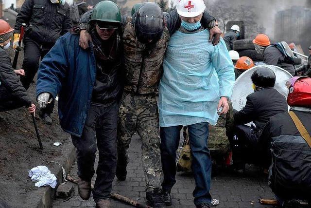 Neue Ausschreitungen in Kiew – Tote in den Straßen