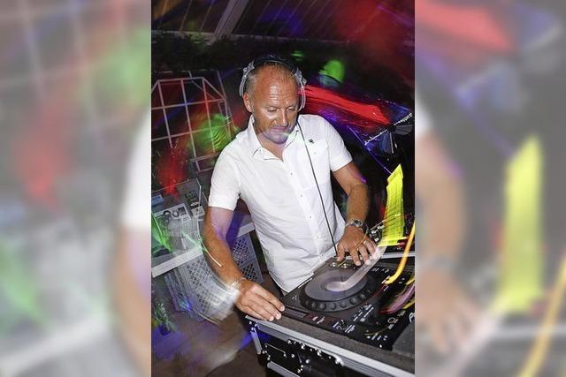 Patrick Strub legt Dance-Music aus den 80ern und 90ern in Lahr auf