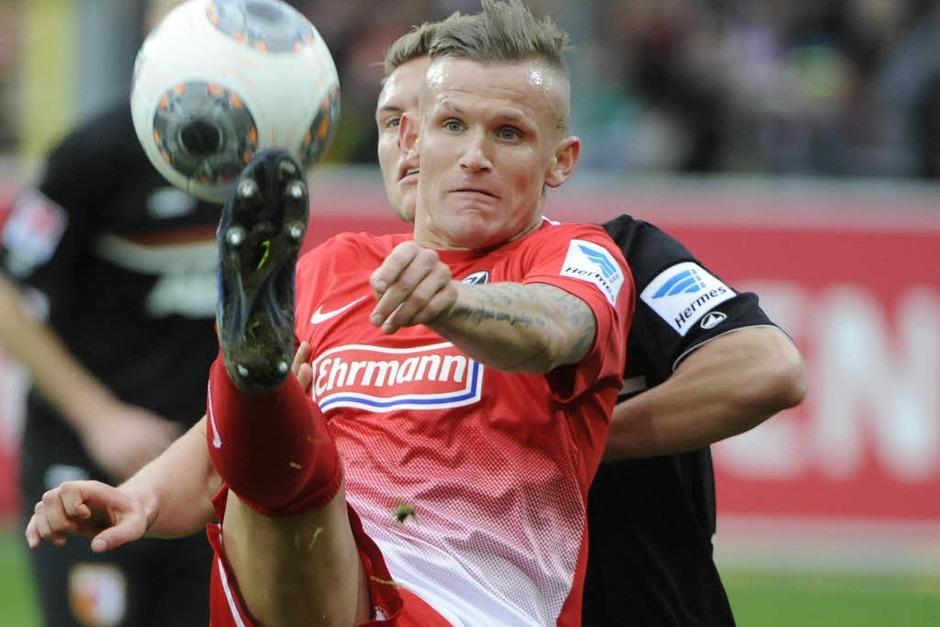Jetzt wird es ganz schwer die Klasse zu halten. Am Freitag spielt Freiburg in Berlin, danach zu Hause gegen Dortmund. (Foto: Achim Keller)