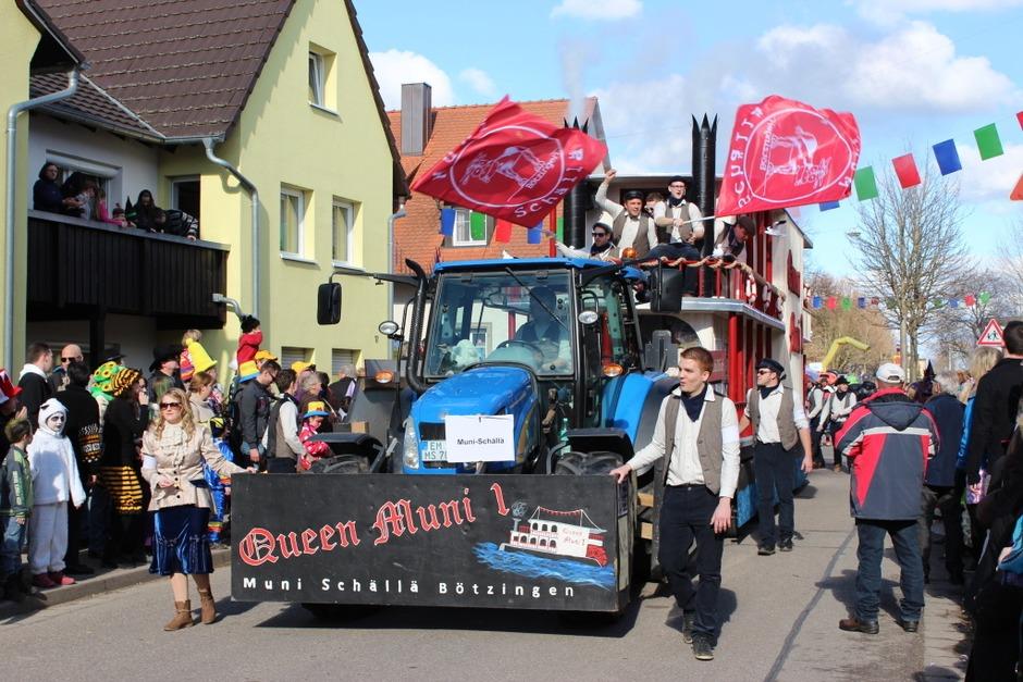 Fasnetumzug in  Merdingen (Foto: Mario Schöneberg)