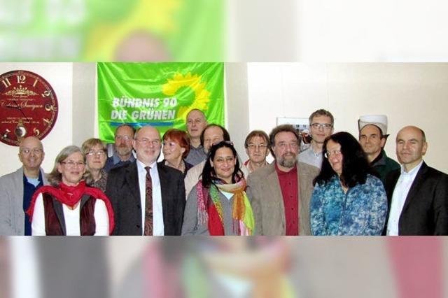 Die Grünen mit großem Frauenanteil