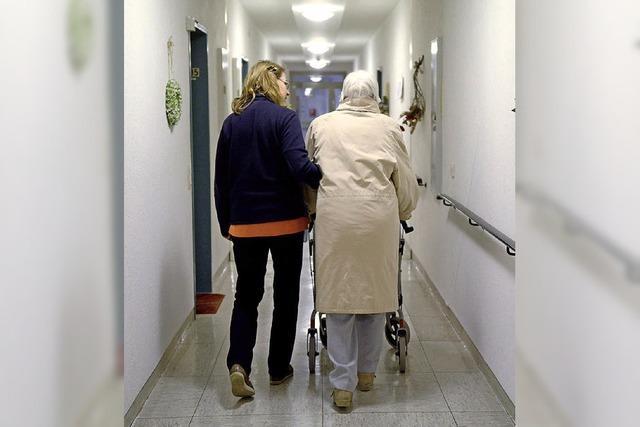 Pflegebedürftigkeit geht ins Geld
