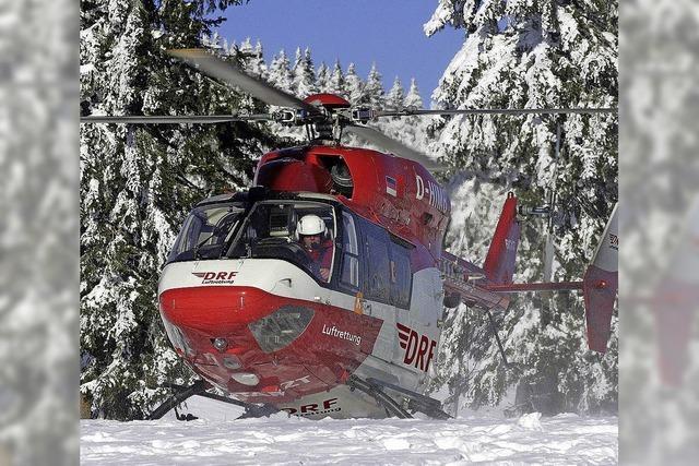 Immer häufiger fliegt der Rettungshubschrauber zu Freizeitunfällen