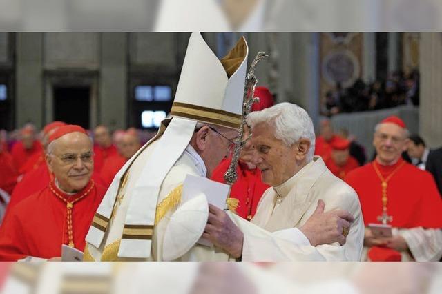 Zwei Päpste sind keiner zu viel