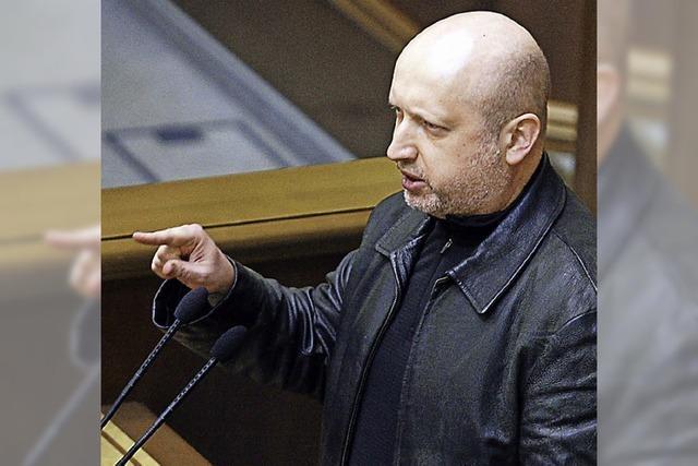 Alexander Turtschinow: Lederjacke statt Anzug