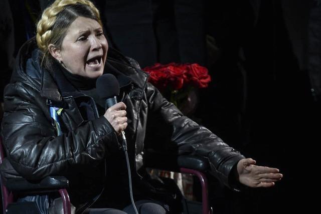 Timoschenko ist zurück – und die Gewichte verschieben sich