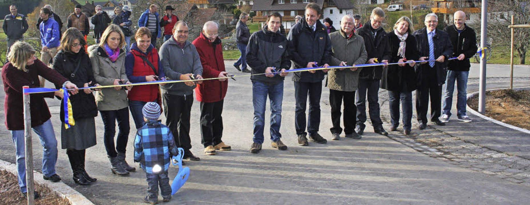 """Im November 2012 wurde die neue Eröffn...acker"""" in Breitnau freigegeben.     Foto: archiv-foto: Dieter Maurer"""