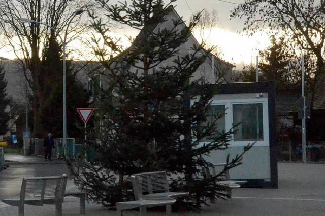 Der kabeltragende Christbaum ist weg