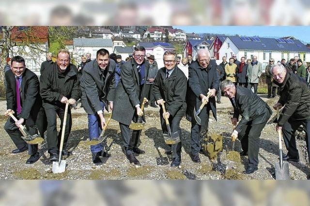 Baubeginn für das Seniorenzentrum