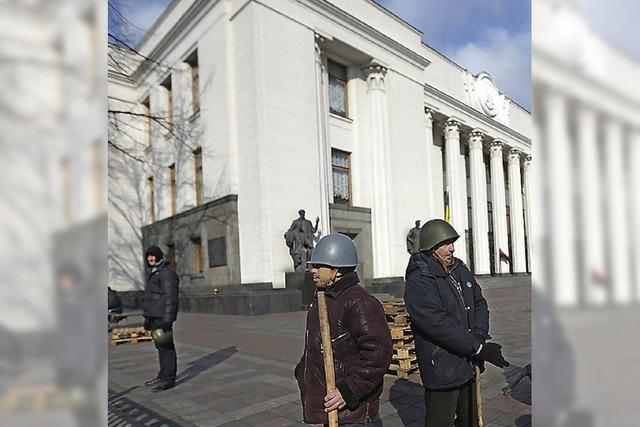 Einstweilen hat Janukowitschs Partei verloren