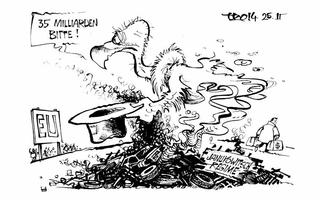 phoenix aus der asche karikaturen badische zeitung