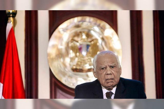 Ägyptens Regierung tritt ab