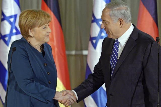 Merkel reist mit Bundeskabinett nach Israel