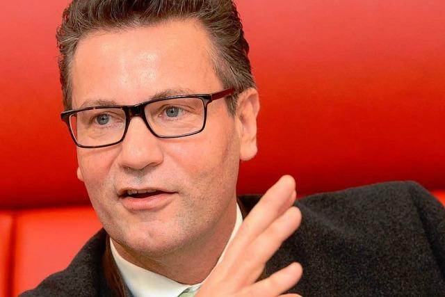 Peter Hauk: Wahlkämpfer in eigener Sache