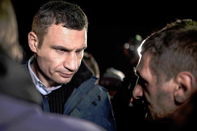 Ukraine: Klitschko kandidiert bei Präsidentschaftswahl