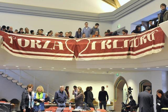 SC-Stadion: Gemeinderat stimmt für weitere Untersuchung des Wolfswinkels
