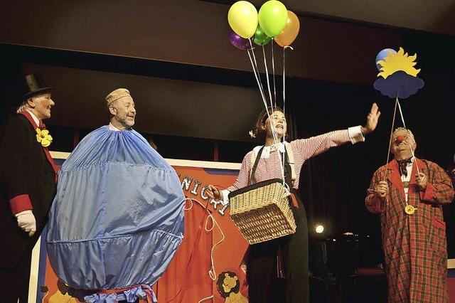 Begeisternde Zirkus-Show