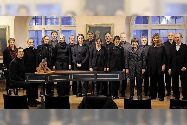 Kammerchor Ettenheim gastiert in Lahr und Mahlberg