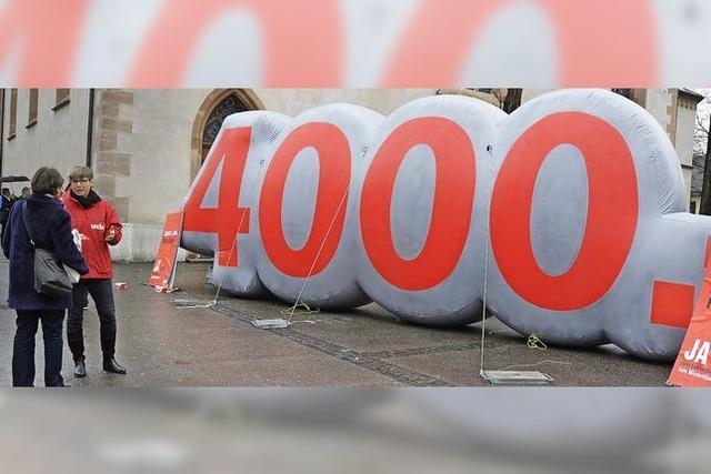 Schweizer Gewerkschaft Unia startet Mindestlohn-Kampagne