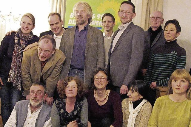 Grüne treten mit 16 Kandidaten an