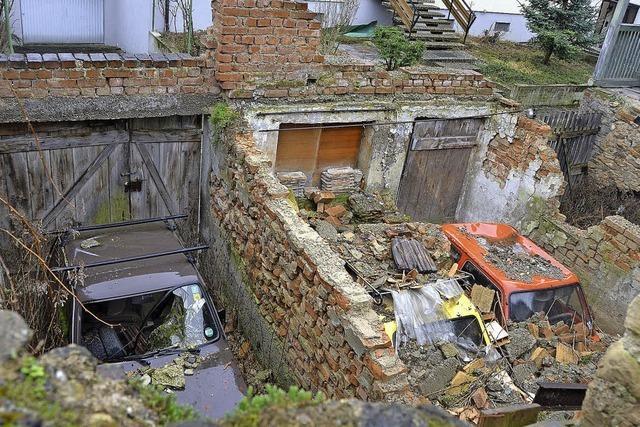 Wer ist für die Ruine verantwortlich?