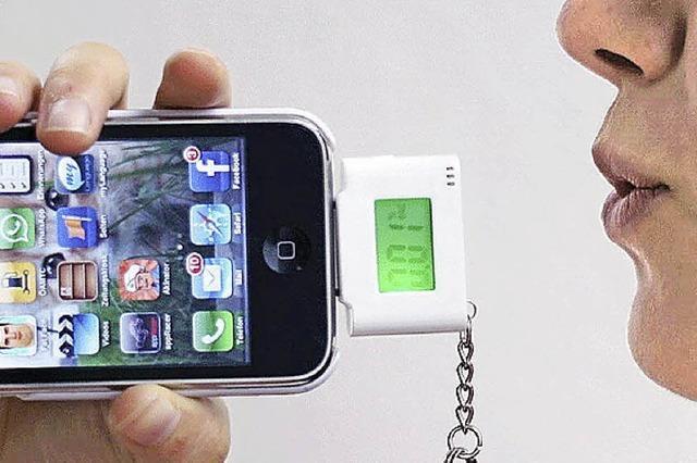 Ein Alkoholtester für das Smartphone