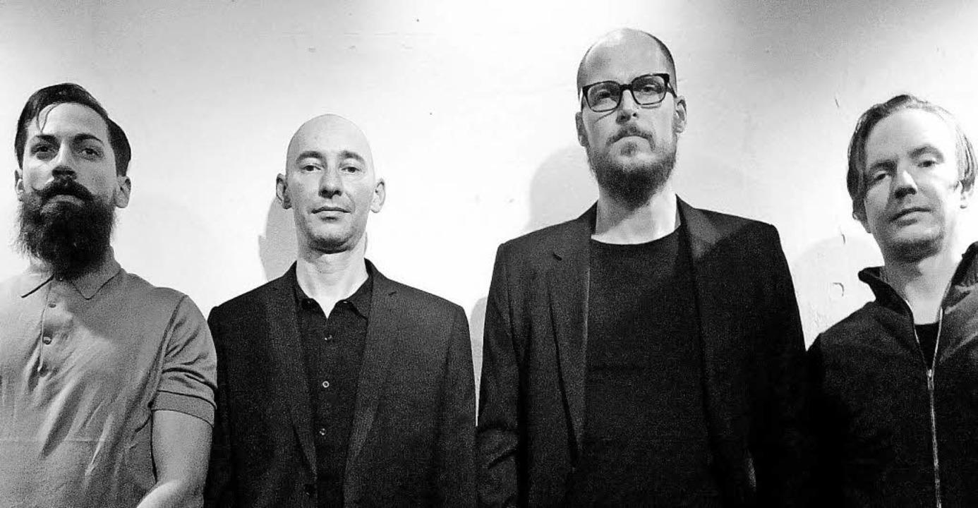 Die Band Bar: Jeremy Dhome, Markus Hei... Maier und Jens Teichmann (von links)   | Foto: Promo