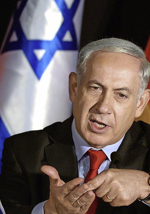 Premier Netanjahu     Foto: DPA