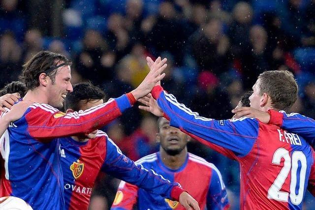 FC Basel siegt souverän und trifft nun auf Salzburg