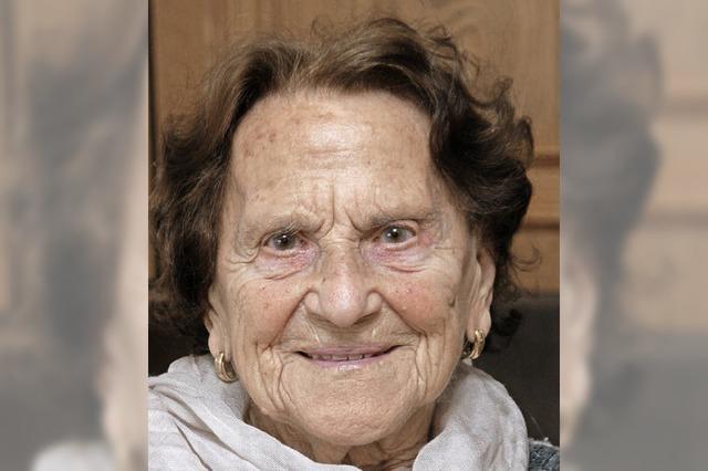 Eine Frohnatur wird 100 Jahre alt