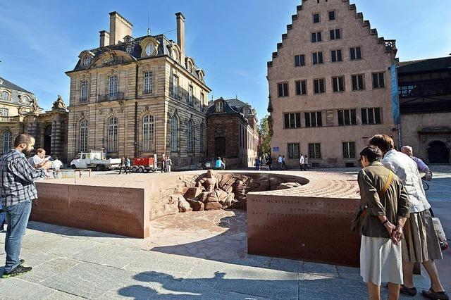 Neue Attraktion: Chimäre aus Sandstein zeigt, wie eine Skulptur entsteht