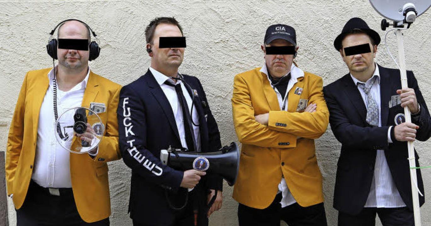 Die üblichen Verdächtigen – verd...olle, Agent Old Fritz und Agent Mario     Foto: Christoph Breithaupt