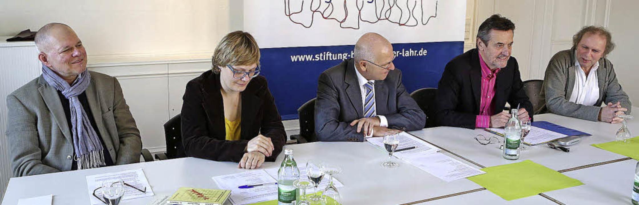 Wollen in Lahr etwas bewegen: (v. link...idt, Josef Foschepoth und Uwe Baumann   | Foto: Christoph Breithaupt