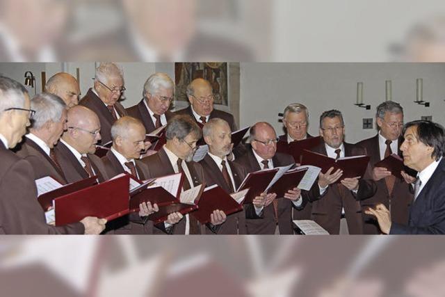 Sängerrunde sucht dringend Nachwuchs